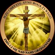Crystus umiera na krzyżu